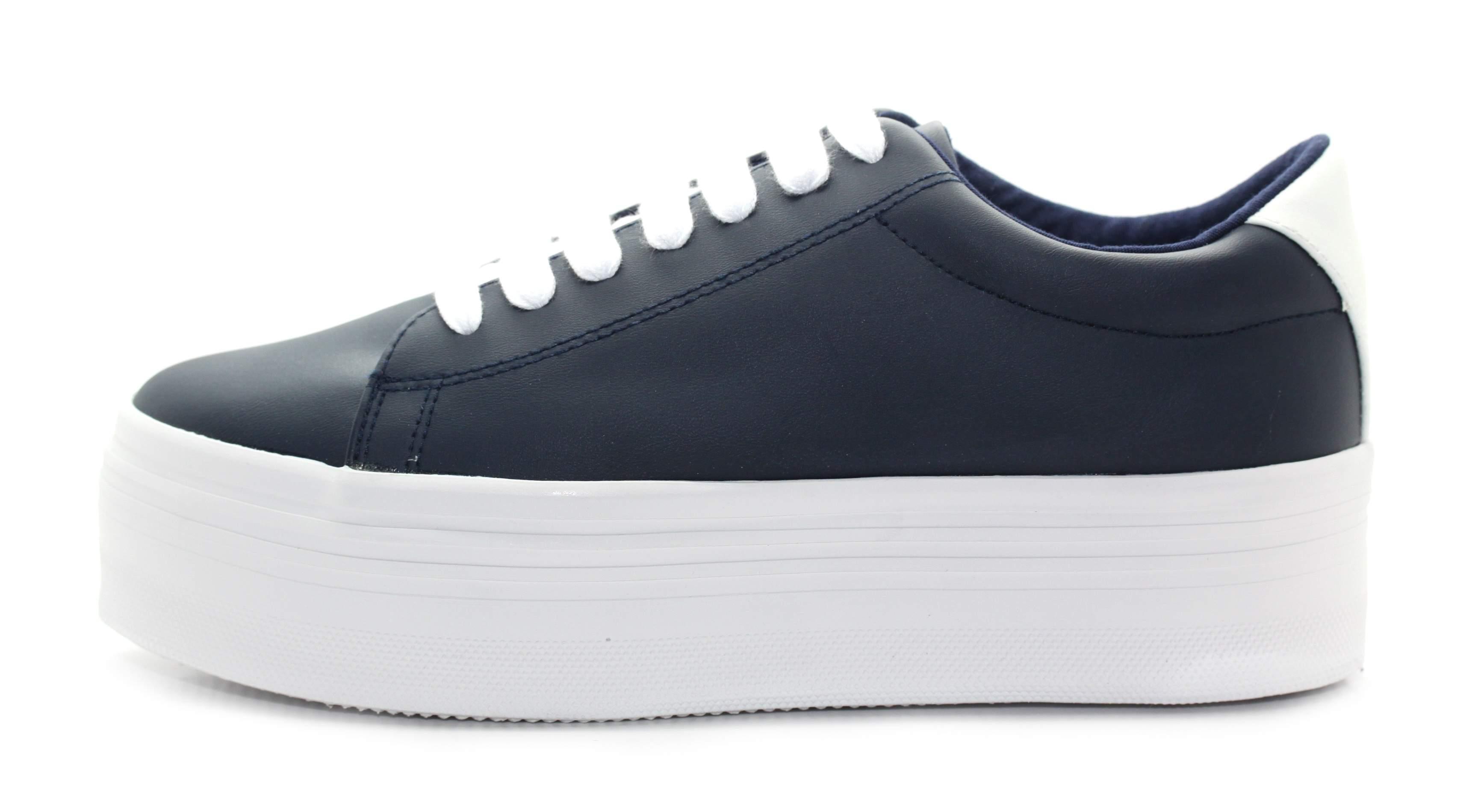 JC Play Womens Dark Navy White JCP-Stan Platform Shoes Trainers UK 6 EU 39