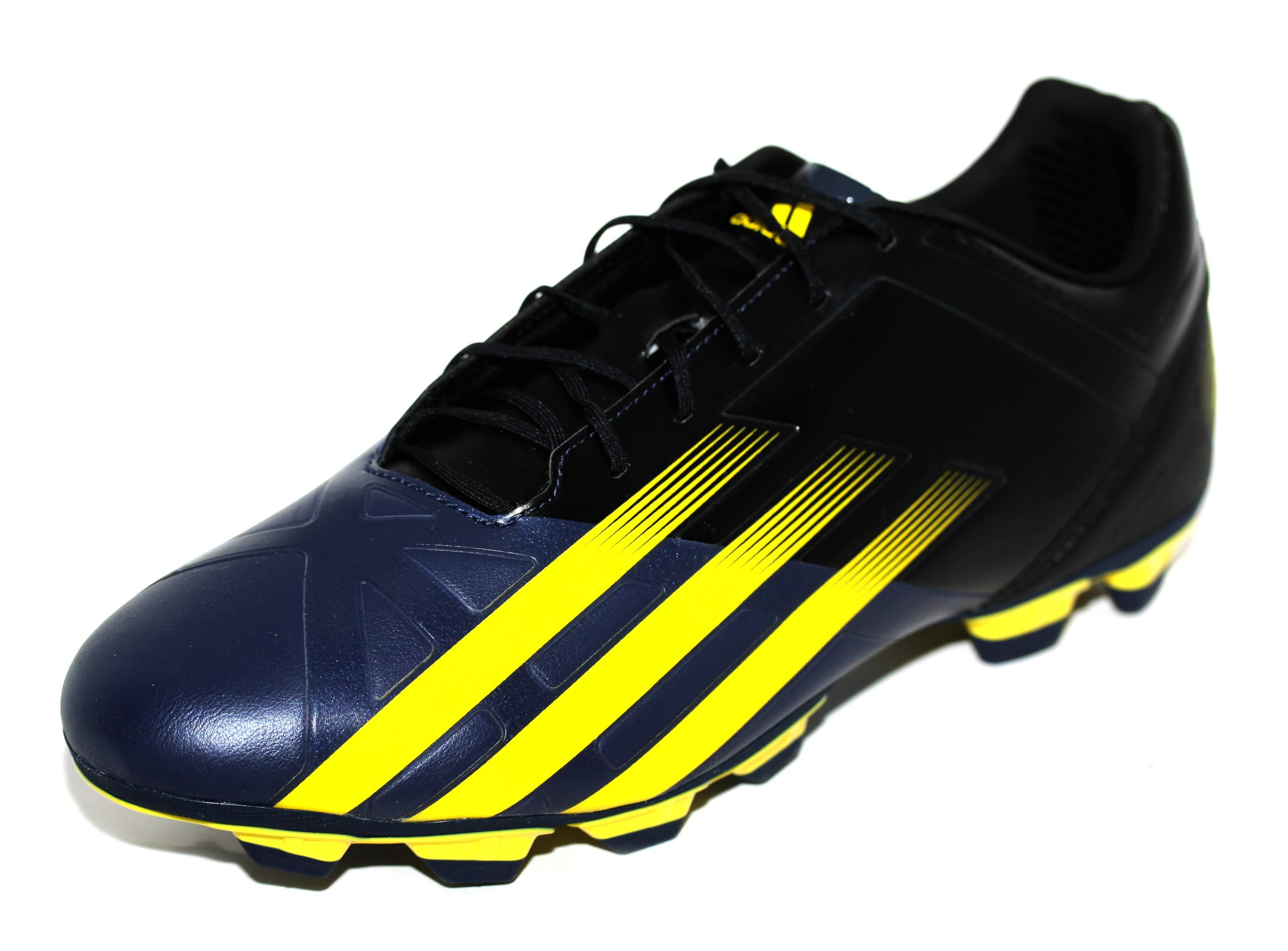 2a2f3b38509eeb Adidas Mens Black Yellow FF80 Pro TRX FG Rugby Boots [G64756] | eBay