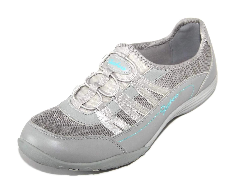 Skechers Womens Grey Memory Foam