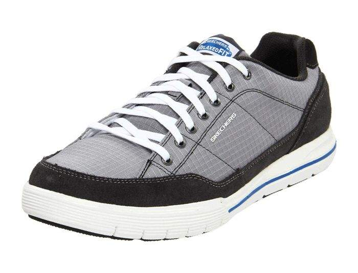 Montgomery Sede Civilizar  Skechers Mens Grey/Charcoal Relaxed Fit: Arcade II - Circulate Trainers  [51196]